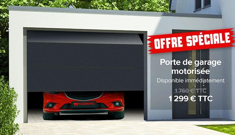 Promo porte de garage